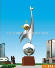 art and abstract deco garden statues