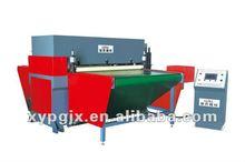 Conveyor feeding hydraulic cnc cutting machine