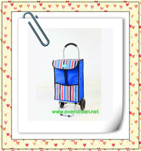 YY-26X17 Foldable Trolley Shopper shopping trolley bag
