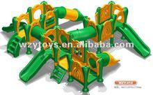 Child Happy CE Plastic Pirate Slide