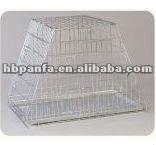 Foldaway Dog Cage/factory price/zinc coating