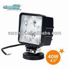 "4"" 40W 12v LED lamp CREE LED working lamp SM6040"