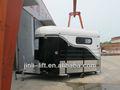 2 caballo remolque de camiones usados para la venta de australia, caballo flotadores de china