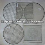 Barbecue Wire Mesh/Zinc coated or chromium plated