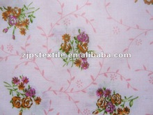 2012 hot sell 100% Cotton Flower Active Printing Fabric