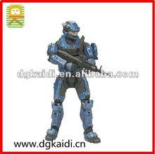 Halo reach serie 3 elhombredejuguetes- espartano de la policía militar personalizado macho azul