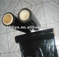 Black PE pallet stretch film
