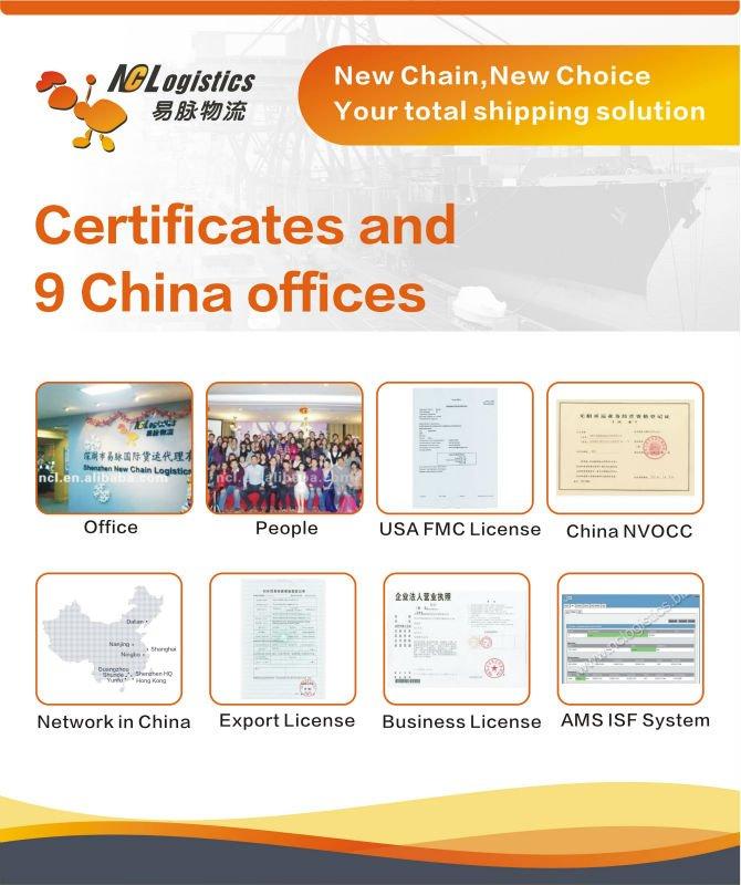 consolidation shipment China to USA Canada Australia UAE