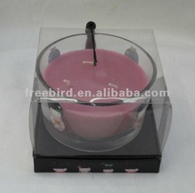 Gift Scented Brand Candle in big glass jar