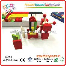 Domino Blocks with English Colorful Box
