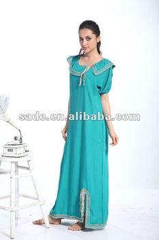 Fashion Lady Arabic abaya/Women gown/Arabic gown