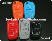 Hot sale 3-button smart key Silicon Rubber bag/key cover/key protective cover(5 sets)/29371