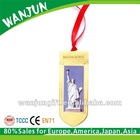 Statue of Liberty bookmark with ribbon