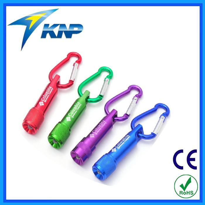 Hot Selling Promotion Aluminum Mini Led Keychain