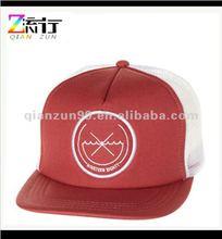 5 panel flat bill trucker mesh hat snap back hats