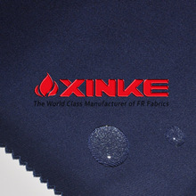 100%cotton water and oil repellent fabric for workers