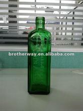 750ml glass alcohol bottle