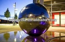 stainless steel garden sphere ball