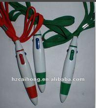 Mini Hanging Pen, ball pen with lanyard CH-6506