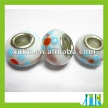 single core lampwork glass bead PB009