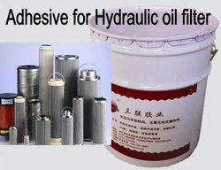 High strength filter AB glue