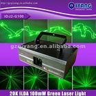 J2-G100 LCD display ILDA 20k 100mw animation green dot laser light with SD card
