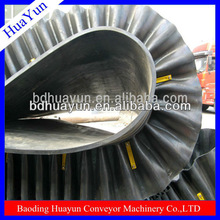 rubber corrugated sidewall conveyor belt
