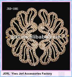 Fashion Accessories Rhinestone lace trims for wedding dress