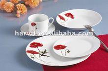 Home Design Super Quality Dinnerware Sets/Germany Dinner Set Porcelain/Chinese Supplier Restaurant Hotel Ceramic Tableware Set
