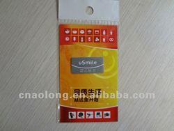 custom logo printing and microfiber+pu gel cellphone sticky screen cleaner