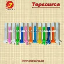 colorful plastic finger light ball pen for promotion