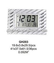 2015 New LCD Multifunction Digital Talking Clock (GH203)
