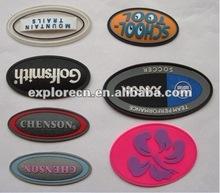 Personalizzati marchio fashion/etichette in pvc