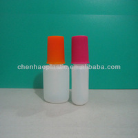 hdpe Glue Bottle Nail Plastic Bottle with brush 10ml Factory