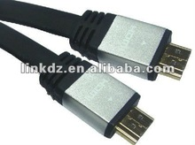 full 1080 p 3D supported flat hdmi cable high speed
