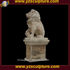 life size marble lion statue for sale AMSN-A011A