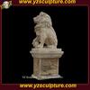 life size marble lion statue for sale AMSN-A011A