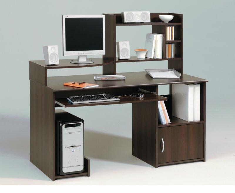 De madera mesa de ordenador modelos mesas plegables - Mesa ordenador madera ...