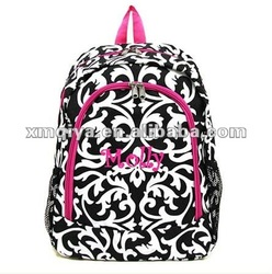 Personalized Canvas Girls Backpack/Nylon/Polyester