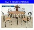 Moderna de madera mesa de comedor y silla