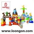 loongon bloque mega mecanografiadas bloquesdeconstrucción rey mono conectar conjunto juguetes