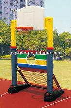 YiQiLe school popular kids basketball set football goal