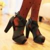 women shoes fashion sandale 2012 accept paypal party shoe ho328-1