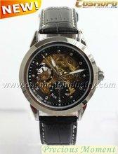 vogue chronograph man watch,leather watch 2012