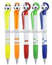 soccer plastic ball pen