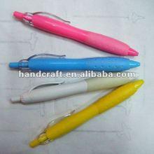 Plastic advertising ballpoint pen