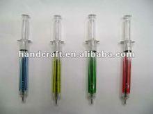 pen in glass tube