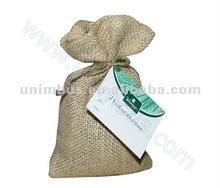 promotion jute burlap gift sacks