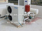 Air thermal pump, air to water heat pump