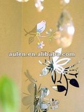 Acrylic mirror wall decals